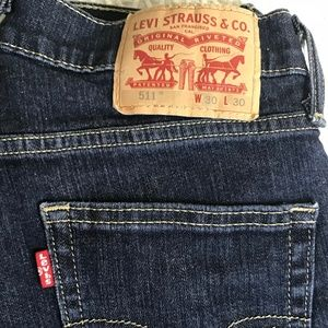 Levi 511 Red Tab Jeans
